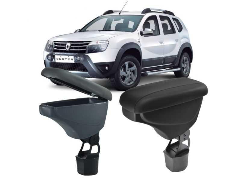 Apoio de Braço para Renault Duster e Oroch com Porta Copos