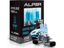 Lâmpada Super Branca Alper Crystal Blue Power HB4 4200K
