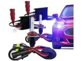 Kit Xenon Slim H27 (880) 10000K - Azul