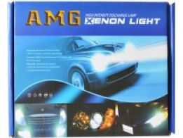Kit Bi-Xenon Slim H4-3 8000K AMG