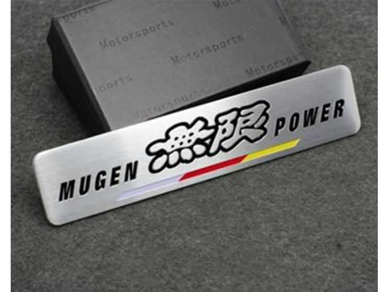 Emblema Badge Mugen Power