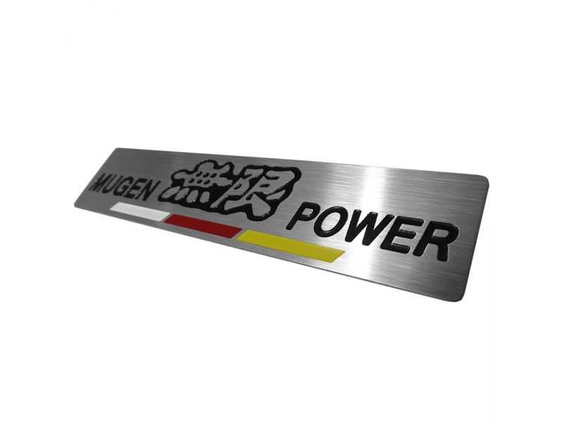 Emblema Badge Mugen Power - Diagonal