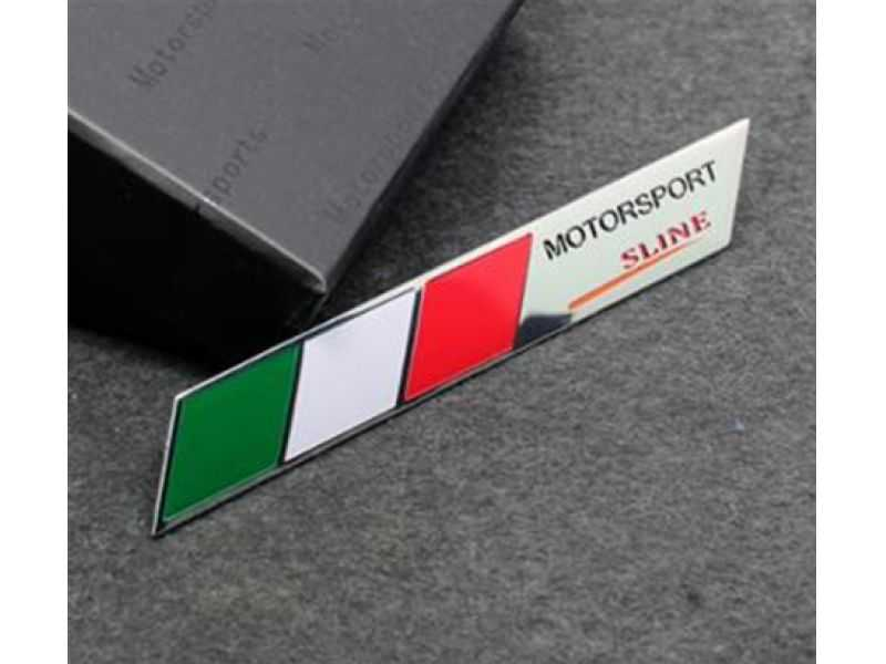 Emblema Badge Italy Motorsport Sline