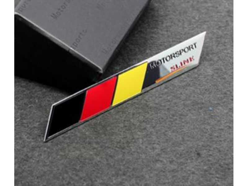 Emblema Badge Motorsport Sline Germany