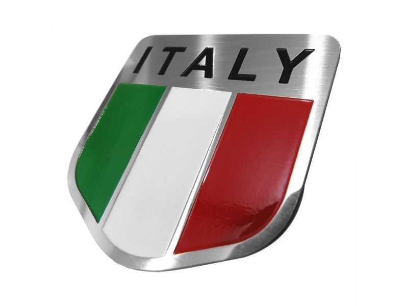 Emblema Badge Italy - Diagonal