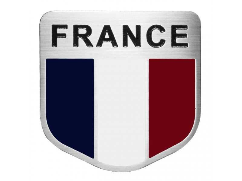 Emblema Badge France - Frontal