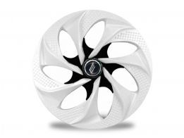 Calota Esportiva Aro 14 Evolution White / Black 4x100 4x108 5x100