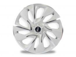 Calota Esportiva Aro 14 DS4 White Chrome 4x100 4x108 5x100