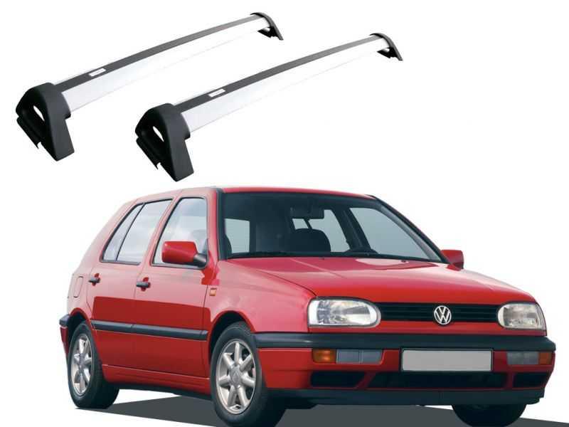 Rack para Golf 1994 Até 1998 - Prata Projecar Vw-124