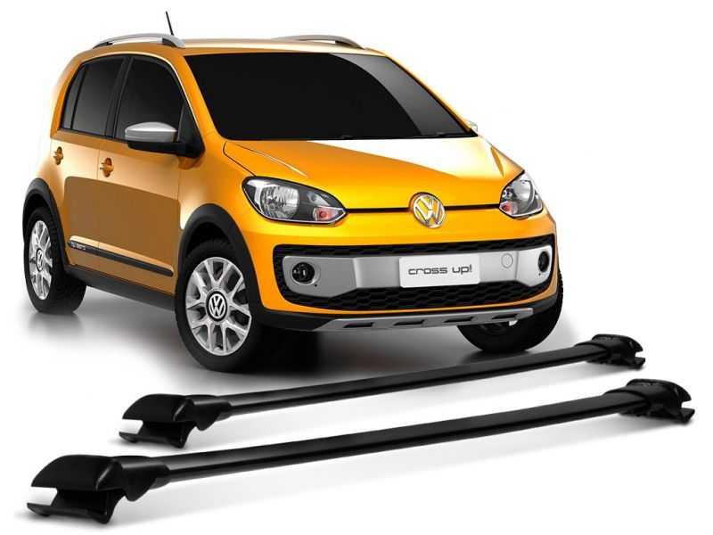 Rack Travessa de Teto para Volkswagen Up Cross - Preto Largo Projecar Vw-152