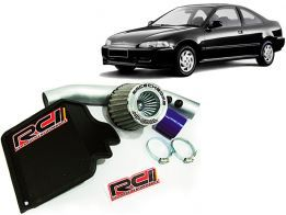 Short RamIntake Race Chrome Civic 1.6 16v 1997 A 1999