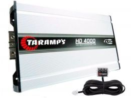 Amplificador Taramps HD 4000 4000w rms