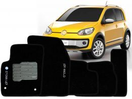 Tapete Carpete VW Cross Up Preto 5 pçs