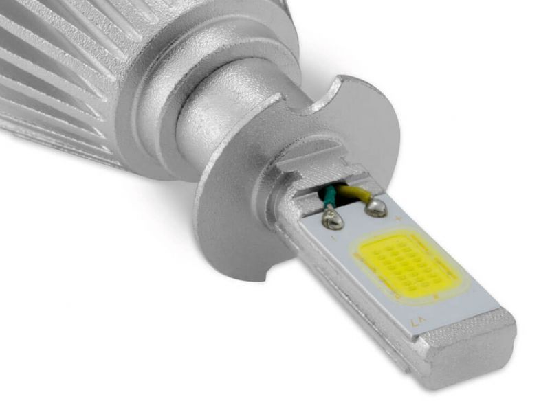 Lâmpada Super LED ShockLight H4 6000K 12V e 24V