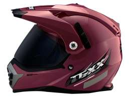 Capacete Texx Mx Double Vision Bordo S-56