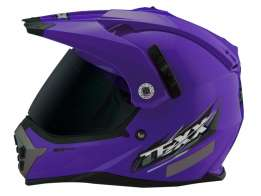 Capacete Texx Mx Double Vision Roxo S-56