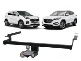 Engate Reboque Sportage e New Tucson Enforth Fixo 500Kg