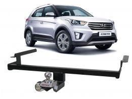 Engate Reboque Hyundai Creta Enforth Fixo 500Kg