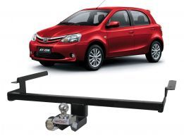 Engate Reboque Toyota Etios 2013/2016 Enforth Fixo 500Kg