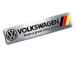 Emblema Badge Volkswagen Keep a Great Thing Going 8x1,5cm