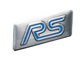 Emblema Badge Ford RS 4x1,5cm