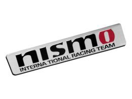 Emblema Badge Nismo - International Racing Team 8x1,5cm