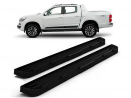 Estribo Off-Road S10 CD 12/.. Black c/ Grafia