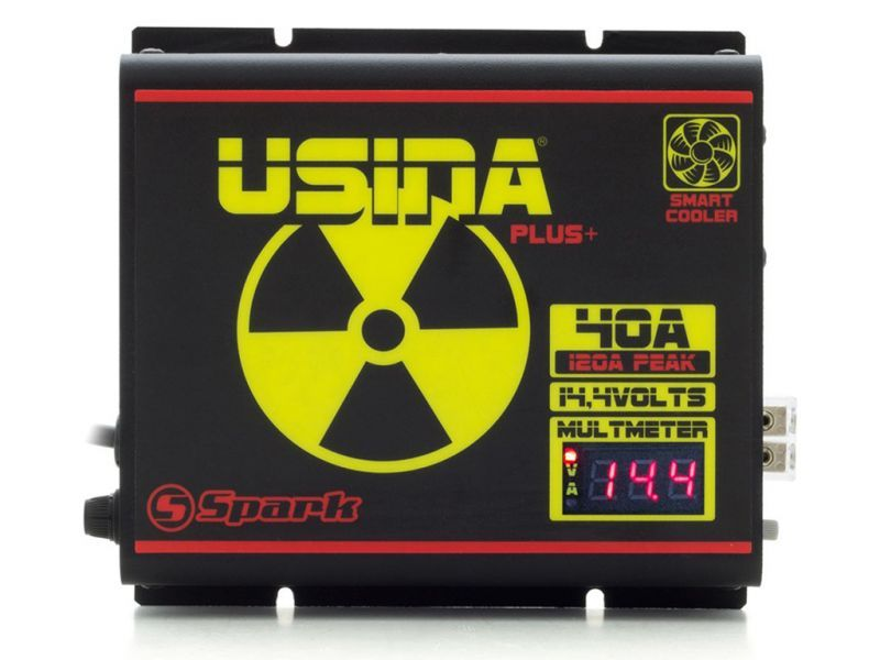 Fonte Automotiva Usina 40A 14,4V PLUS+ VOLT/AMP BV