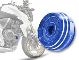 Tampa do Motor Universal Honda M45X1.5 Evolution Azul
